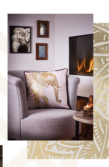 Decorate your home with opulent accessories from our Soulful collection at George.com