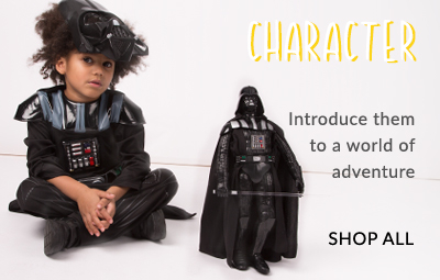 From Disney to Marvel Avengers, browse our kids' character shop at George.com