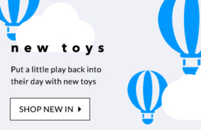 Keep them entertained with new toys at George.com