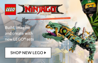 Build, stack and create with the latest LEGO toy sets at George.com