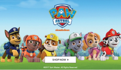 Ensure plenty of fun with our Paw Patrol toy collection at George.com
