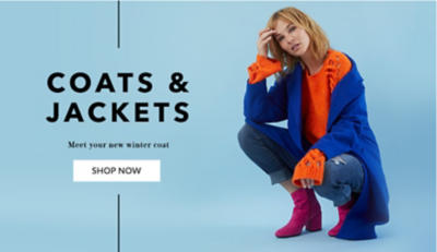 Shop new coats and jackets for women