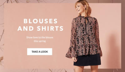 Shop women's shirts and blouses