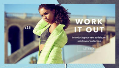 Shape up with our new athleisure collection