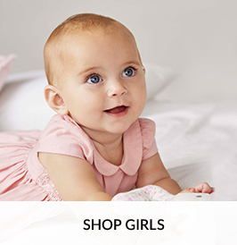 Shop our beautiful range of baby girl clothing