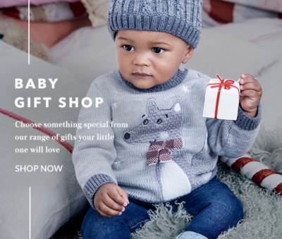 Make their first Christmas extra special with our baby gift shop at George.com