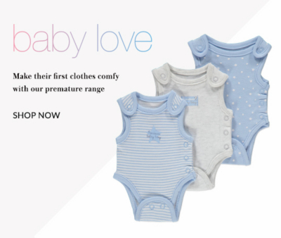 Shop our premature baby collection for precious little ones.
