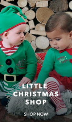 Shop sweet and festive baby outfits at George.com