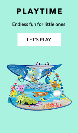 Shop our range of playmats and gyms for baby