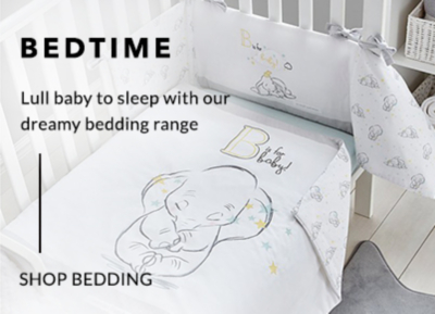 Soothe your little one to the Land of Nod with our baby bedding range