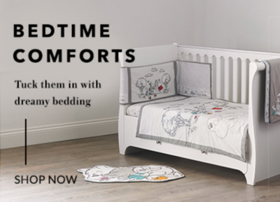 Shop our dreamy range of baby bedding