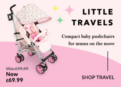Shop our range of baby pushchairs and prams at George.com