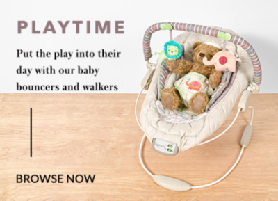 Put the play into their day with our fun range of baby toys at George.com.