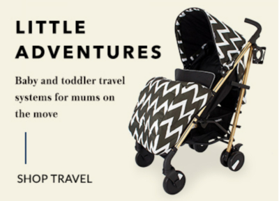 Ensure a safe and comfortable journey for your little one with our travel range at George.com