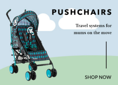 Browse our range of pushchairs and strollers