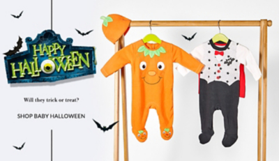 Treat your little monster to our spooky selection of baby Halloween outfits at George.com