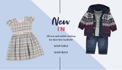 Shop baby new arrivals  at George.com