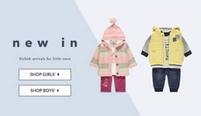 Shop sweet styles for little ones at George.com