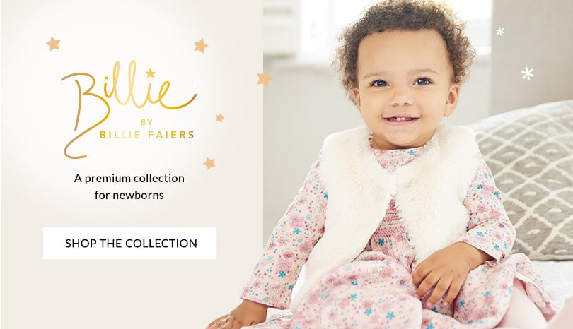 Baby. Discover our new babywear range, designed by Billie Faiers ...