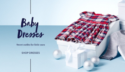 Shop baby girls' dresses at George.com