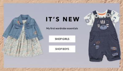 Shop baby new arrivals