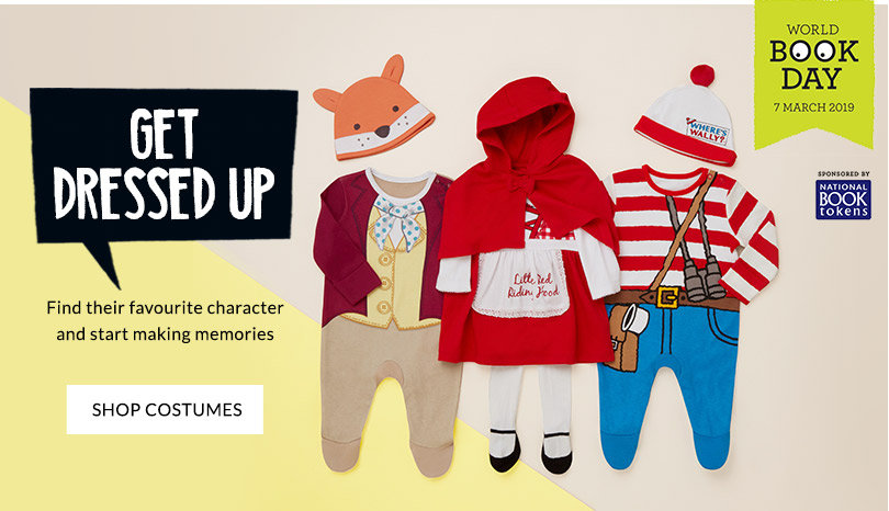 Shop baby World Book Day costumes