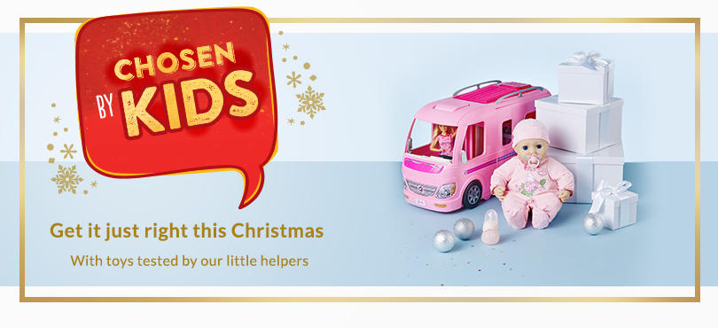 Put a smile on their face this Christmas with the best toys tried and selected by little experts at George.com