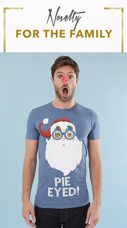 Kit the family out this Christmas with our novelty clothing range at George.com