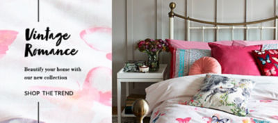 Give your home a touch of glamour with our Vintage Romance trend at George.com