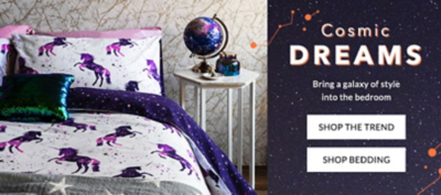 Look to stars and transform your home with our Cosmic trend