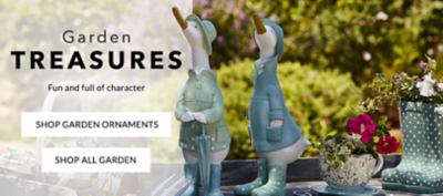 Shop garden ornaments