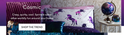 Transform your home with our Cosmic trend