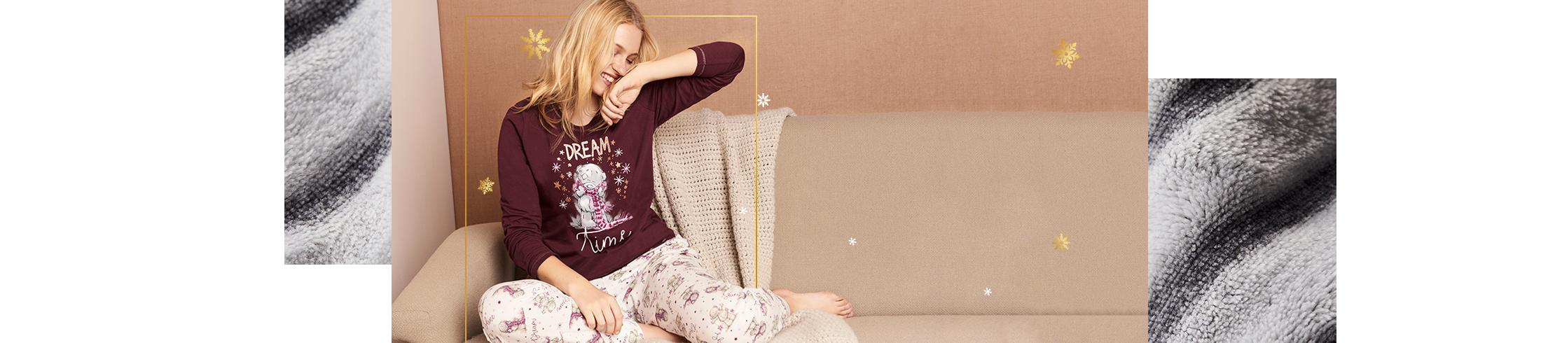 Get into the Christmas spirit with festive nightwear