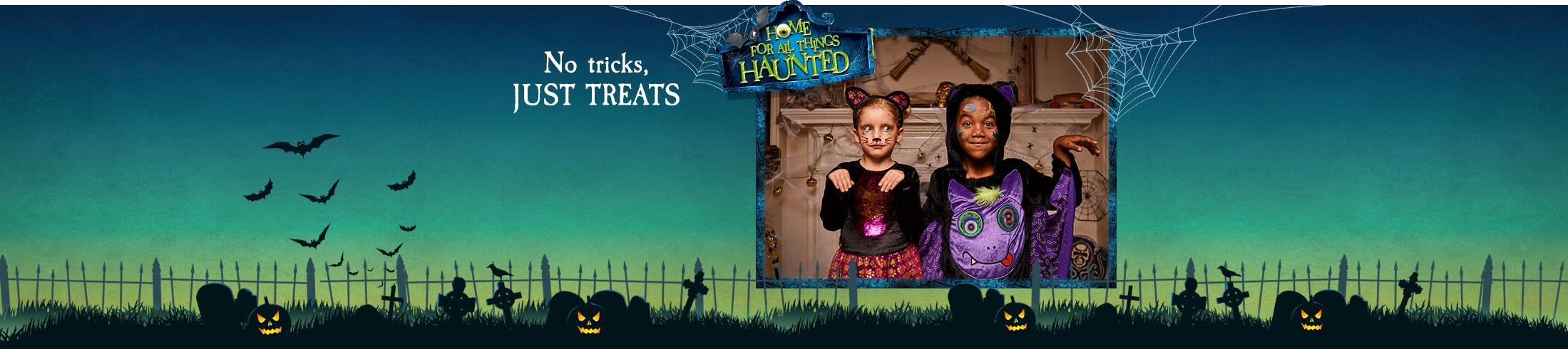 It's time to get scary! Discover our frighteningly fun kids Halloween outfits