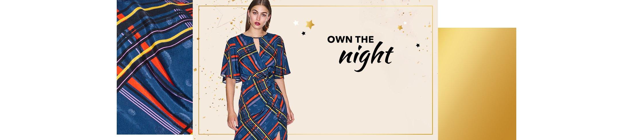 Be ready for party season with show-stopping dresses, skirts and more