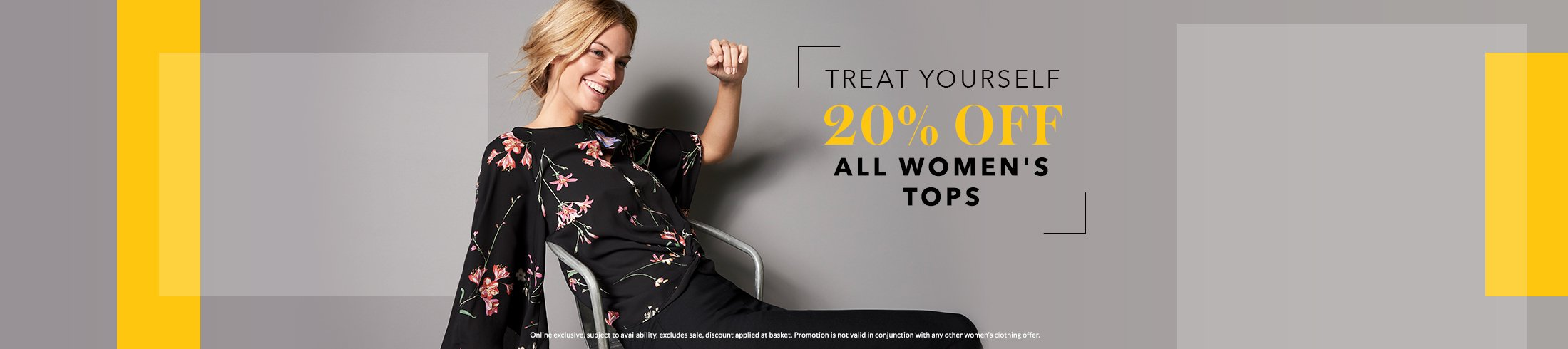 Shop 20% off all women's tops