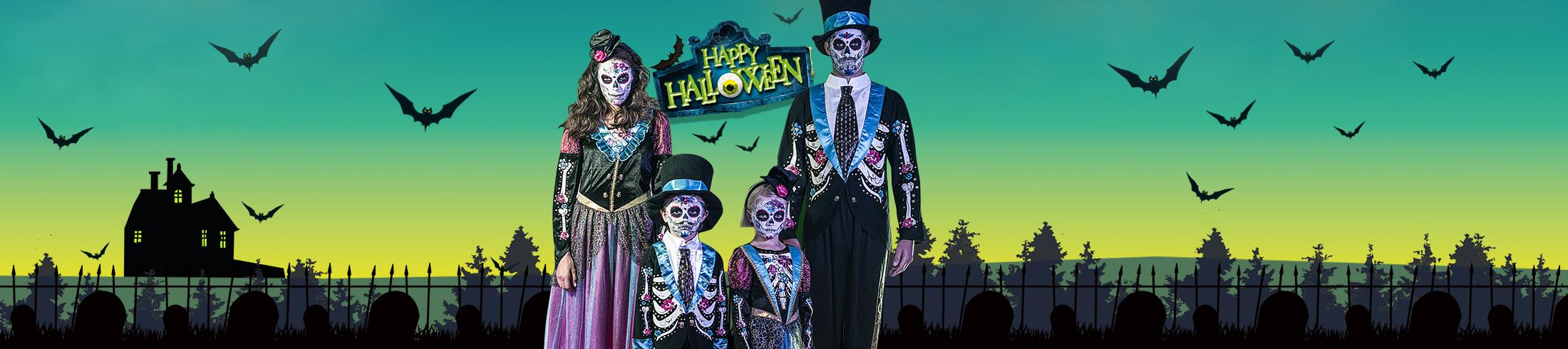 Make Halloween a spook-tastic one with our range of outfits for all the family at George.com
