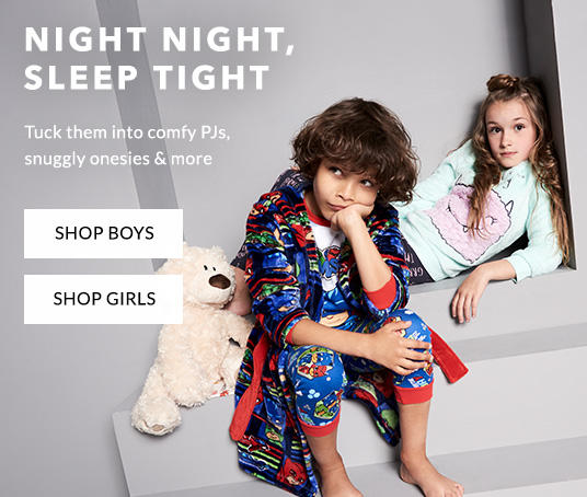 Make going to bed easier with new nightwear for kids