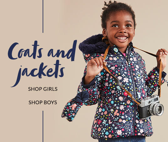 Come rain or shine, ensure they're covered with our range of kids coats and jackets at George.com
