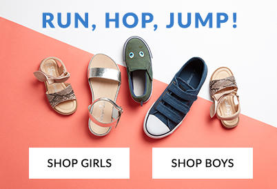 9cb133066 ... girls Step into our shoe shop and discover stylish kids footwear ...