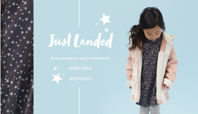 Explore the latest arrivals for girls