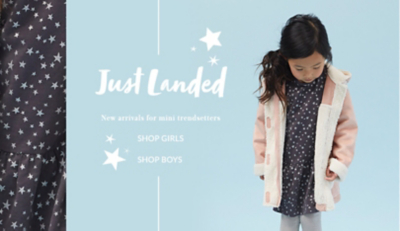 Discover new arrivals for girls' at George.com