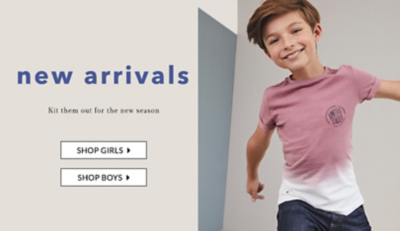 Browse girls' new in at George.com