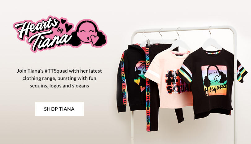 cb9547790 Join Tiana's #TTSquad with her new range of clothing, accessories and  bedding