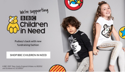 Help Pudsey raise money for Children in Need