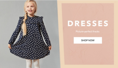 Shop girls' dresses