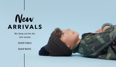 Shop boys' new arrivals now