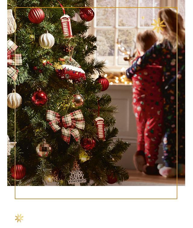 Asda Christmas Trees: George At ASDA