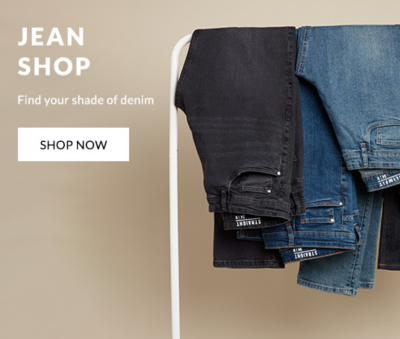 Discover our wide range of men's jeans from skinny to straight and slim fit