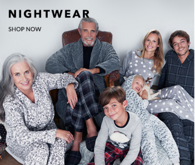 Head to bed with stylish nightwear for men at George.com